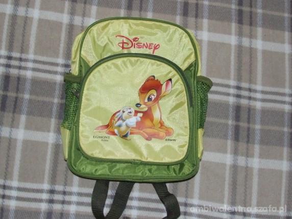 Nowy plecak dla przedszkolaczka EGMONT