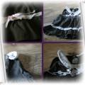 sukieneczka braz cieniutki sztruks