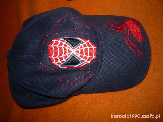 czapka spiderman