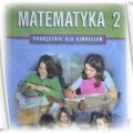 Podręcznik dla gimnazjum Matematyka 2