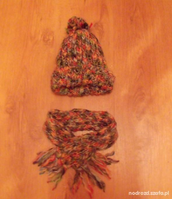 Komplet HM szalik i czapka