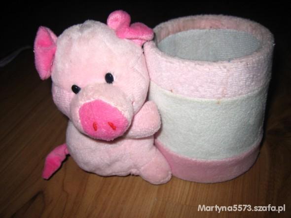 Kubek na kredki świnka OKAZJA