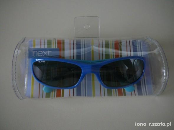 next okularki przeciwsloneczne z malpka nowe