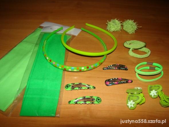 Zielony zestaw dla justika