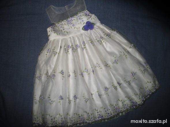 6e57ee6b69 piekna w kwiatuszki Cinderella 3 4 lata w Sukienki i spódniczki ...