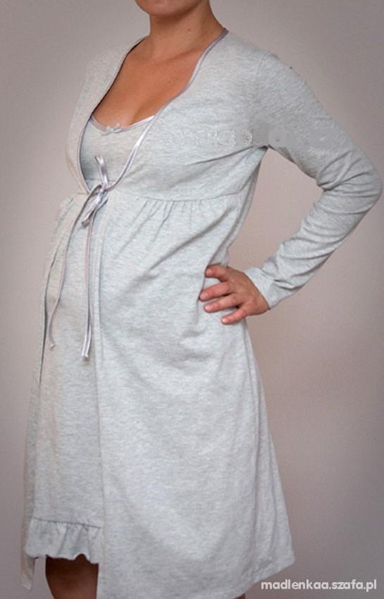 62596bf44b698b Komplet koszula i szlafrok ciążowe do karmienia S w Bielizna ciążowa ...