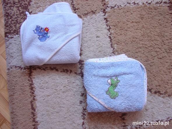 2 ręczniki z kapturkiem