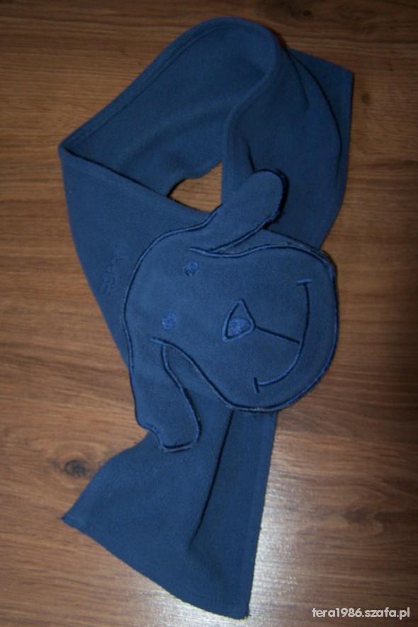 szalik esprit niebieski z przesyłką