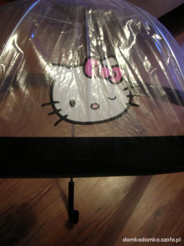 Parasolka Dla Dzieci Hello Kitty Transparentna