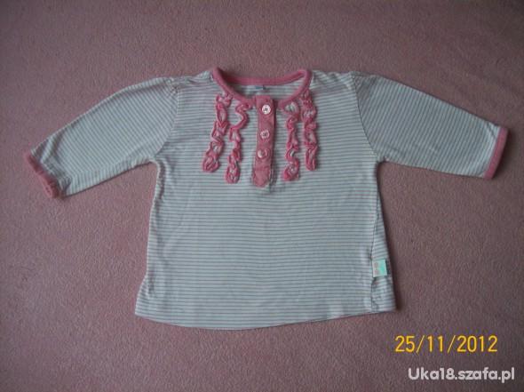Bluzeczka z długim rękawkiem