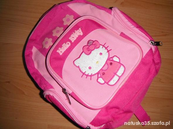 hello kitty śliczny oryginalny plecaczek