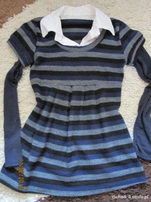 elegancka tunika ciążowa 3 w 1