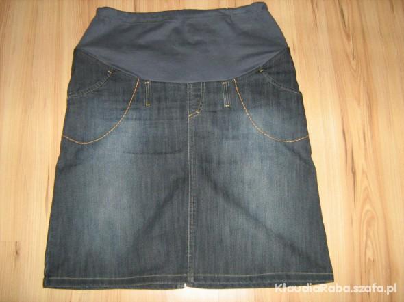 Ciążowa spódnica jeansowa nowa L XL