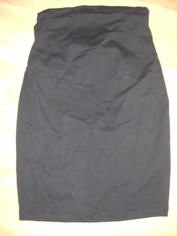 czarna spódnica ciążowa ołówkowa xl