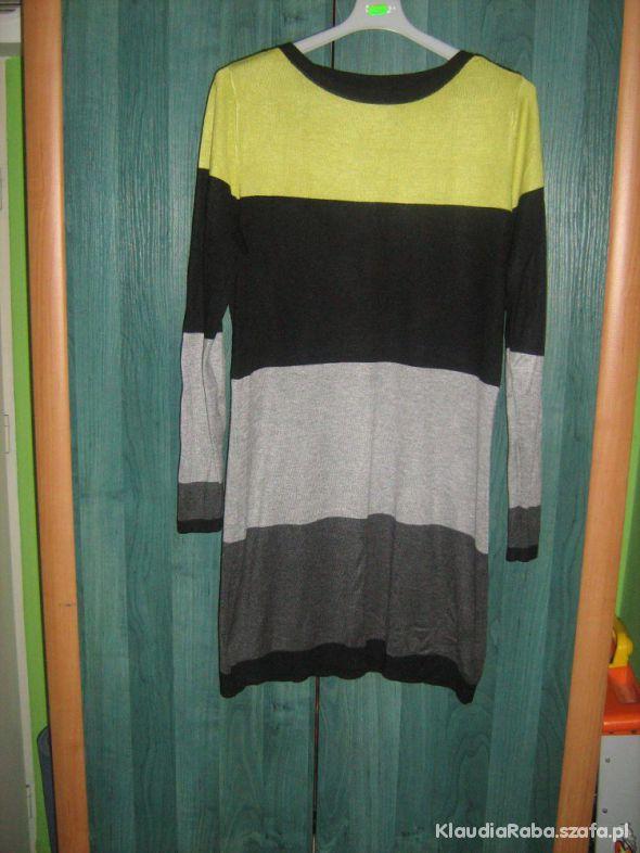 Tunika sweterek ciążowy do legginsów L XL