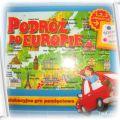 gra edukacyjna Podróż po Europie