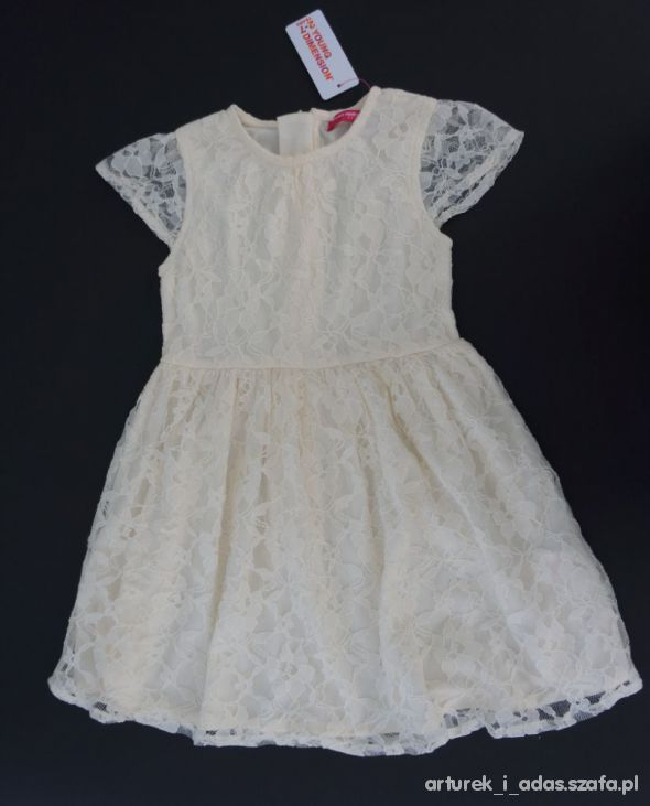 b5a1d8876d Primark Young D wesele KORONKOWA SUKIENKA HIT r 98 w Sukienki i ...