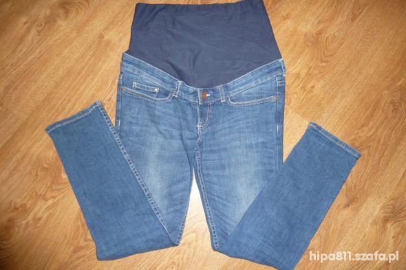ciążowe spodnie HM rurki
