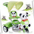 trojkolowy rowerek Panda z pozytywka