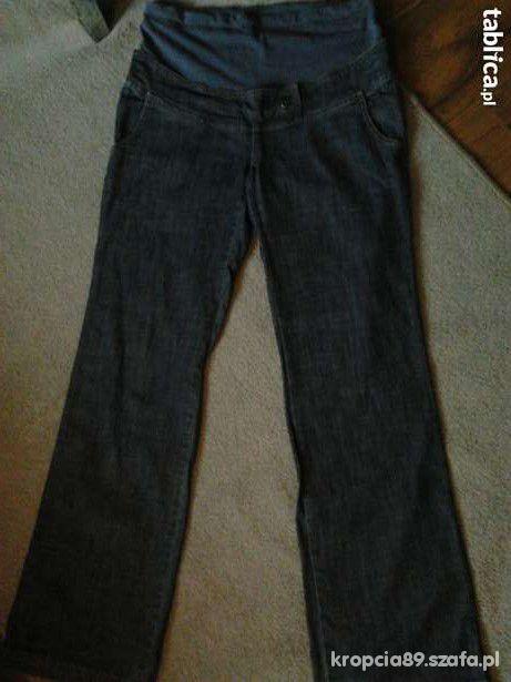 spodnie ciążowe z kominem