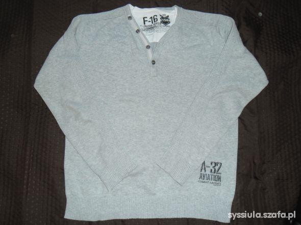 Szary sweterek RESERVED 158