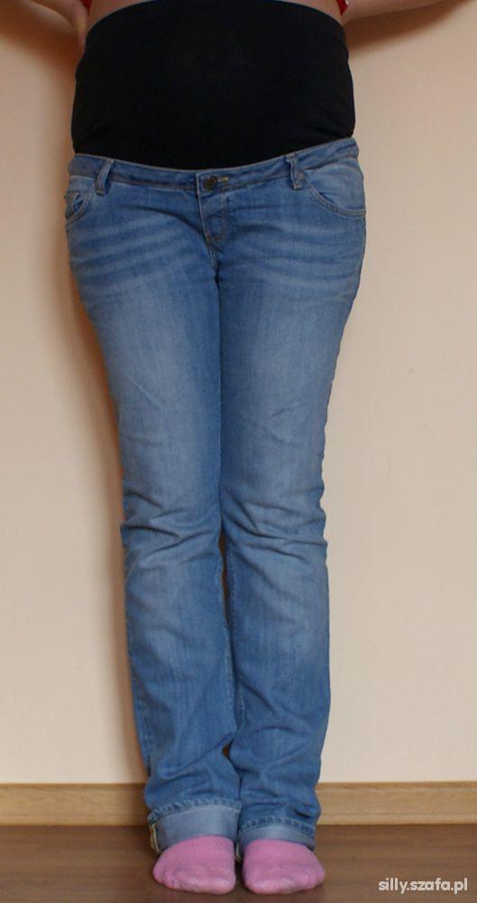 Jeansy ciązowe