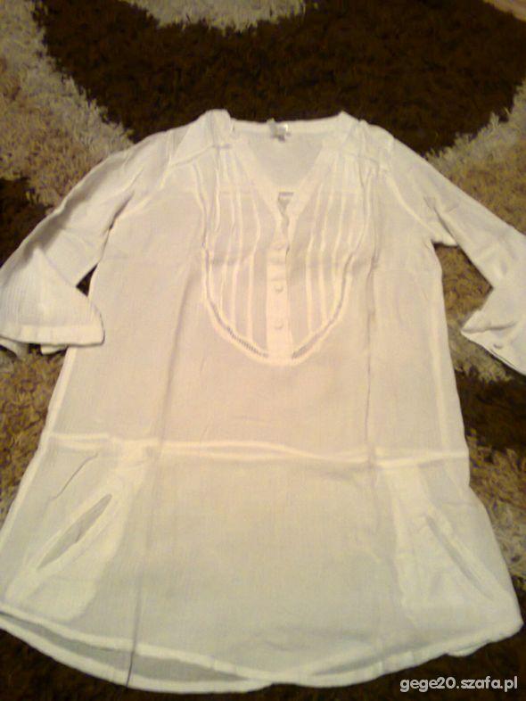 długa biała koszula atmosphere 40