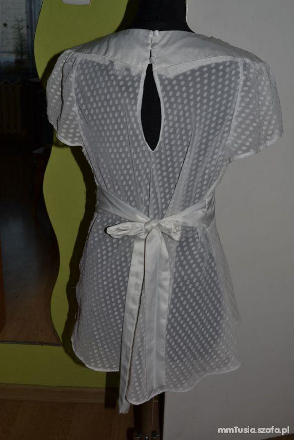 Bluzka bluzeczka koszula ciążowa biała