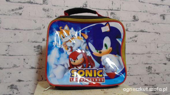 Torba na śniadanko Sonic