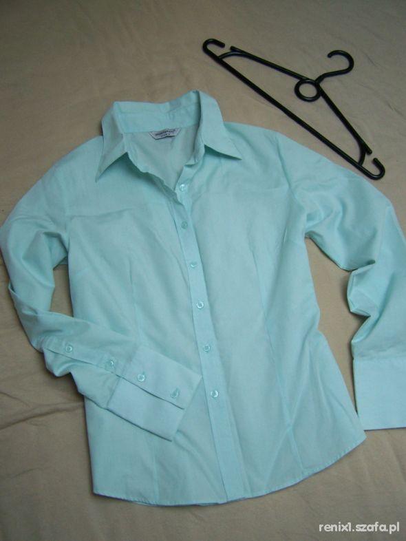 ATMOSPHERE miętowa koszula 40 jak nowa