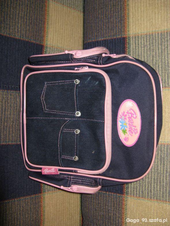 Plecaczek Barbie