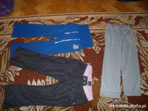 dresowe spodnie dla mamusi rozmiary M L XL
