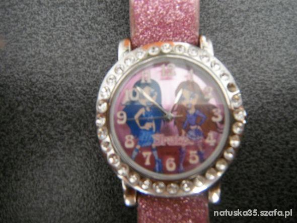 różowy zegarek Bratz