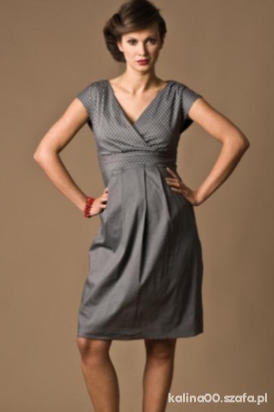 Sukienka Ciążowa Torelle L szara
