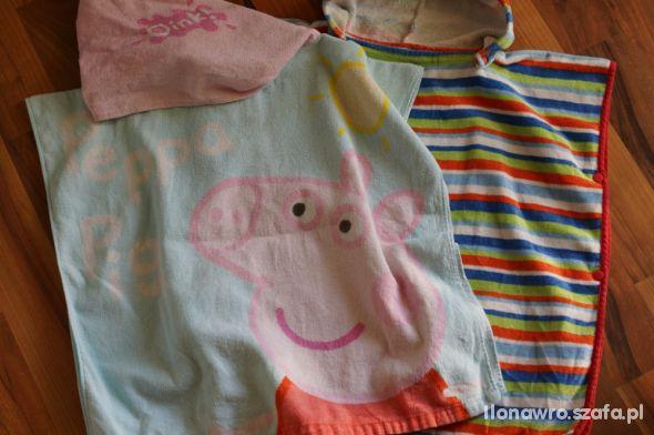 Ręczniki na plaże Ikea i peppa