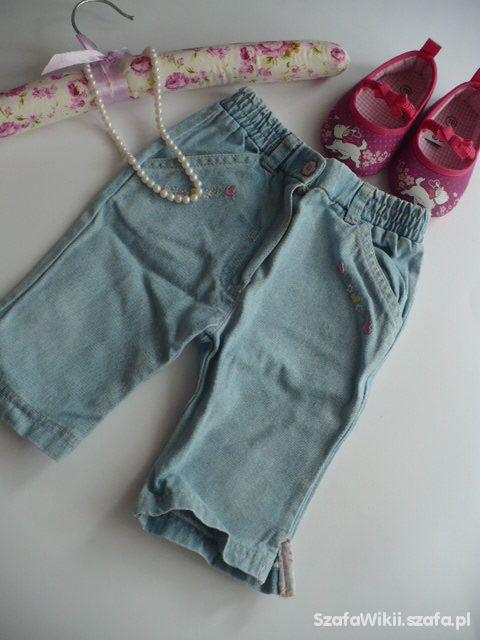 spodnie jeans dżinsowe jasne