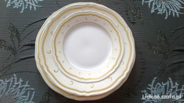 komplet porcelany stołowej obiadówka komplet 36