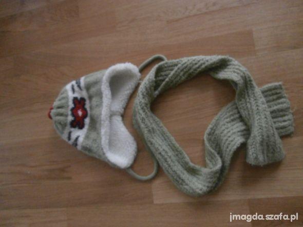 Komplet szalik i czapka
