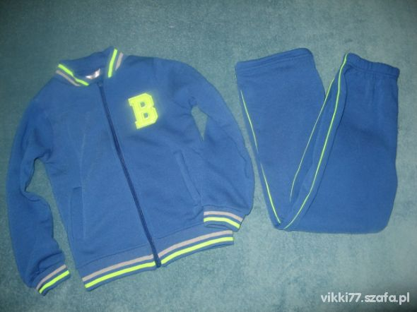 Nowe dresy spodnie i bluza 122