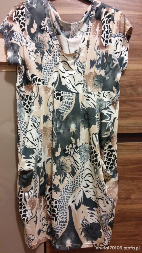 sukienka ciążowa XXL