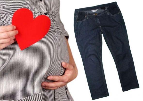40 42 DOROTHY PERKINS Ciążowe jeansy