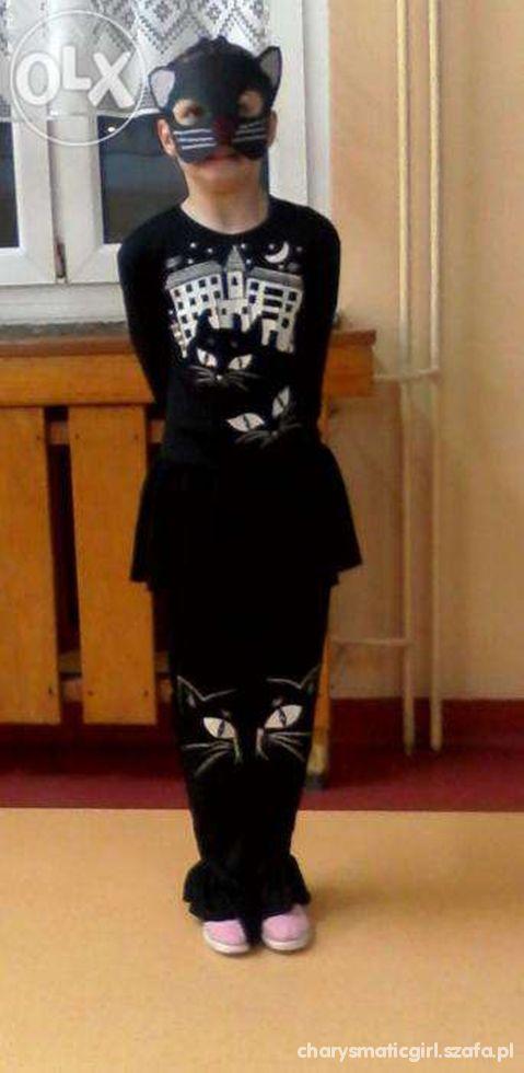 Przebranie Czarny Kot Dla Dziewczynki W Stroje Na Różne Okazje