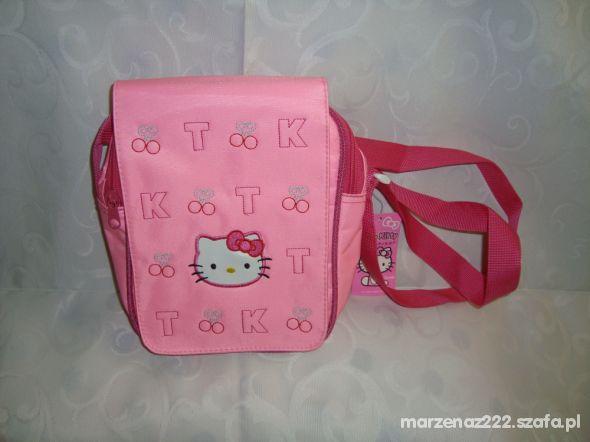 Nowa Hello Kitty różowa torebka listonoszka