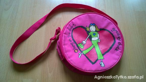 Torebka różowy plecaczek