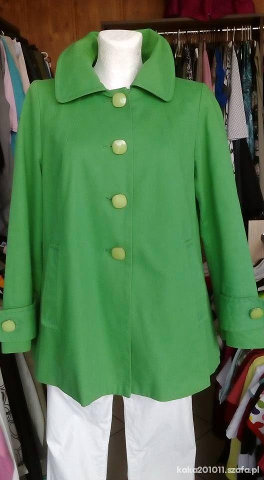 Zielony płaszczyk 42