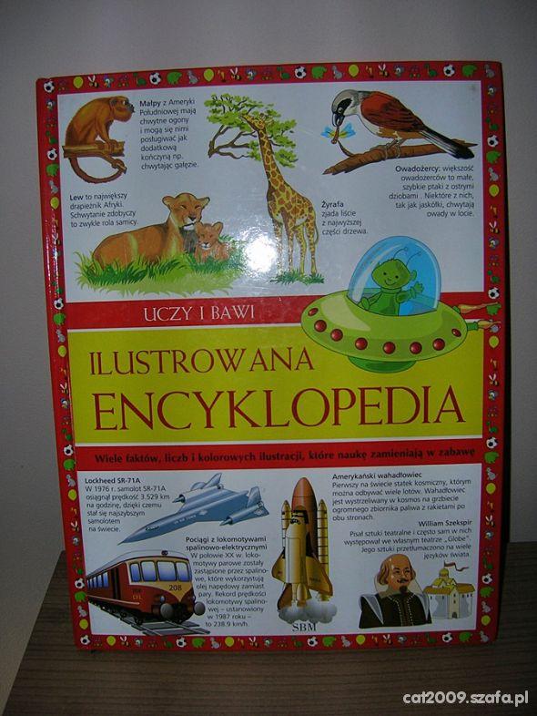 uczy i bawi ilustrowana encyklopedia prezent