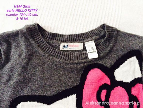 b9a1e72a89 Sweterek HM Helo Kitty Dziewczynka 134 cm w Sweterki - Szafa.pl