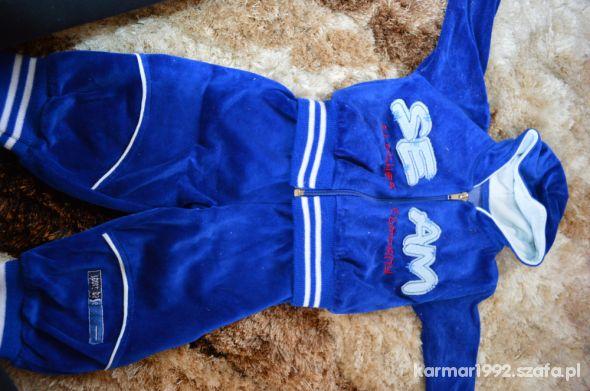 Niebieski Dres Chłopięcy z Miki