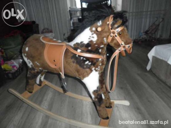 Nowy koń na biegunach