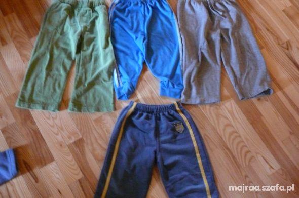 Dresy i spodnie dresowe rozmiar 92